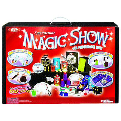 Spectacular 100 Trick Magic Suitcase (0C4769) - Ideal