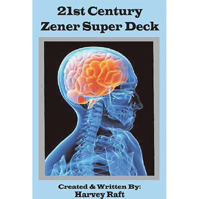 21st Century Zener Super Deck by Harvey Raft - Trick