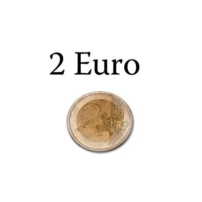 2 Euro Moneda Normal