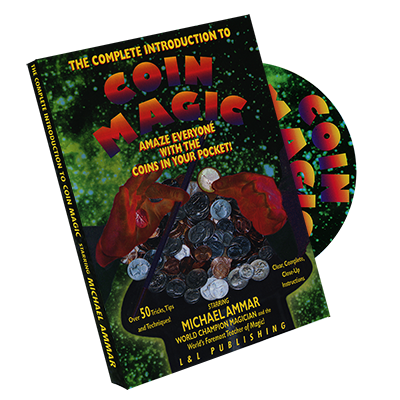 Complete Intro to Coin Magic - Michael Ammar - DVD