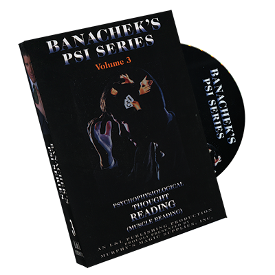 Psi Series by Banachek Volume 3 - DVD