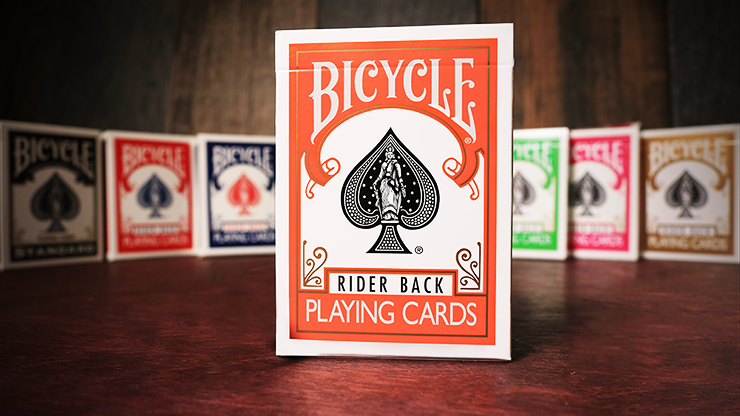 Cartas Bicycle - Orange Back USPCC