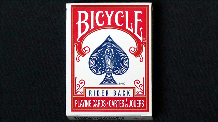 Mini Cartas Bicycle (Rojo)