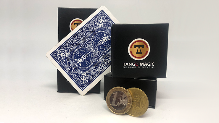 Lethal Tender Euro with Bicycle Card by Tango- Trick (E0061)
