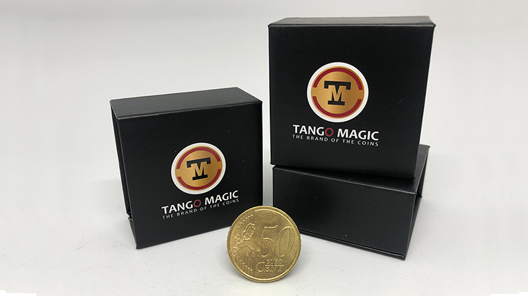 Steel Core Coin (50 Cent Euro) by Tango -Trick (E0022)