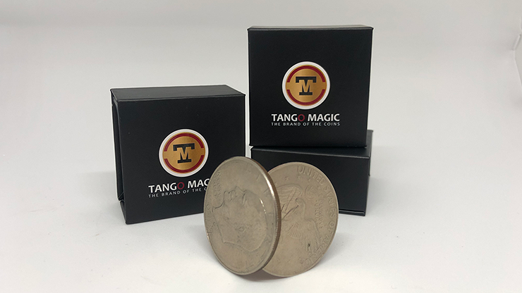 Magnetic Flipper Coin (Half Dollar)(D0042)by Tango - Trick