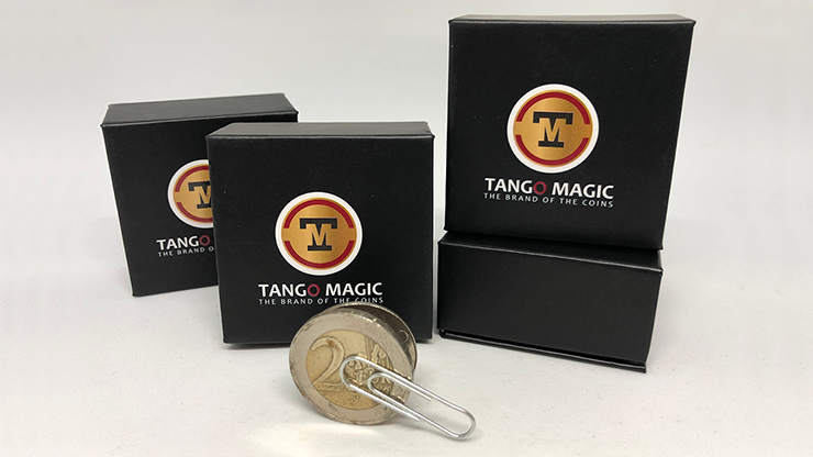 Magnetic Flipper Coin (2 Euro) by Tango- Trick (E0034)