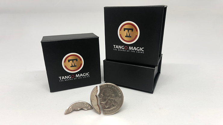 Bite Coin - (US Quarter - Traditional With Extra Piece)(D0047)by Tango - Trick