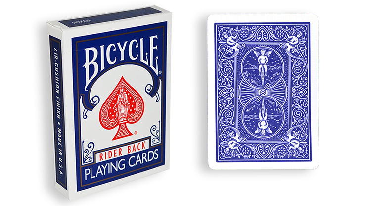 Cartas Bicycle - 3 Maneras de Forzar (Azul)