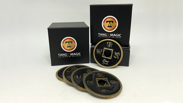 Expanded Chinese coin Shell made in Brass (CH004) from Tango Coin Magic