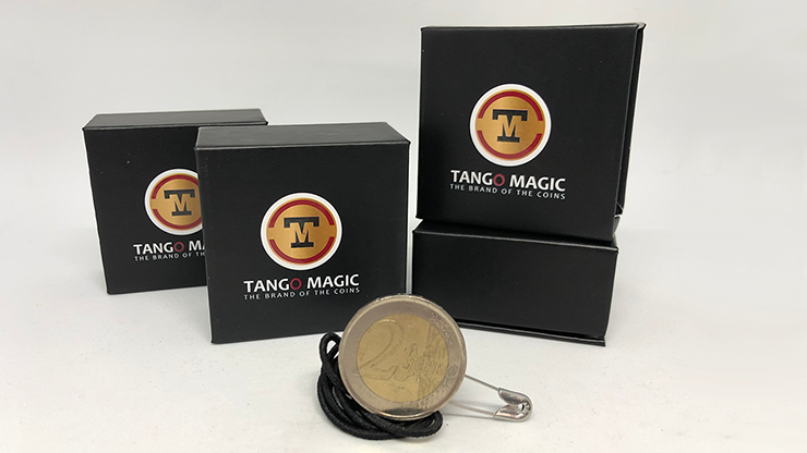 Pull Coin (2 Euro) by Tango Magic -Trick (E0047)