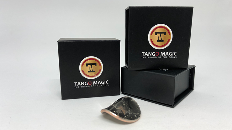 Bended Coin (Half Dollar)(D0098) by Tango - Trick