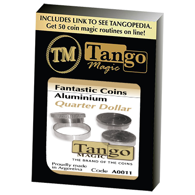 Fantasic Coins Quarter Dollar Aluminum (A0011) (Made with Real Coins) by Tango-Trick