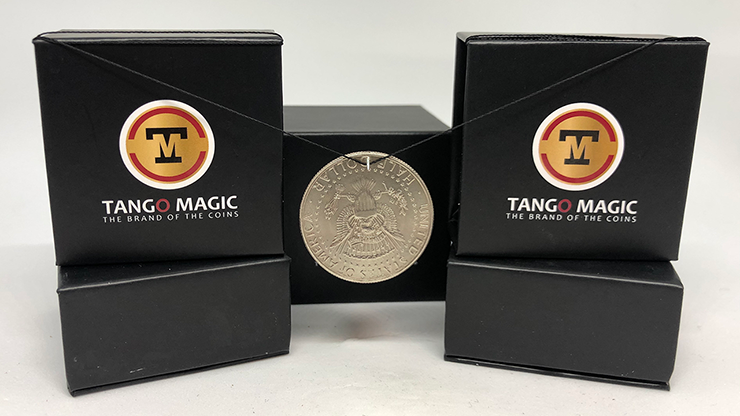Hooked Coin Half Dollar by Tango - Trick (D0064)