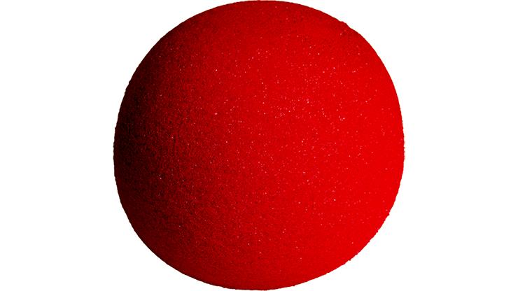 1 Bola de Esponja Regular - 4 Pulgadas - Goshman (Rojo)