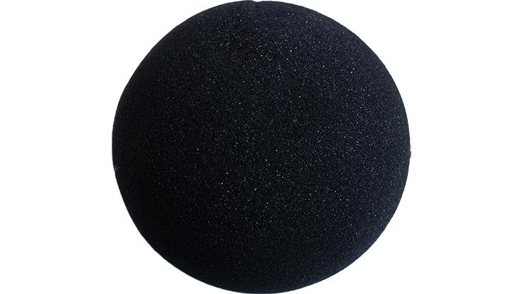 1 Bola de Esponja Super Suave - 4 Pulgadas (Negro)