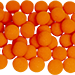 2 inch Super Soft Sponge Ball (Orange) Bag of 50 from Magic by Gosh