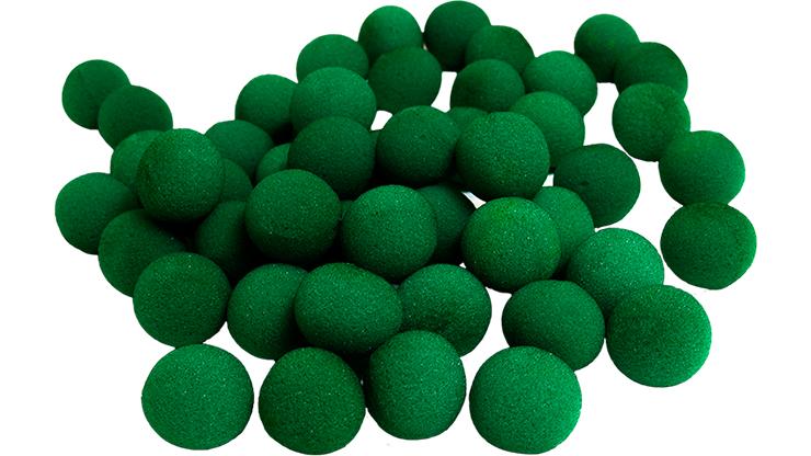 50 Bolas de Esponja Super Suave - 2 Pulgadas (Verde)