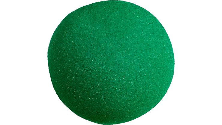 1 Bola de Esponja Super Suave - 4 Pulgadas (Verde)