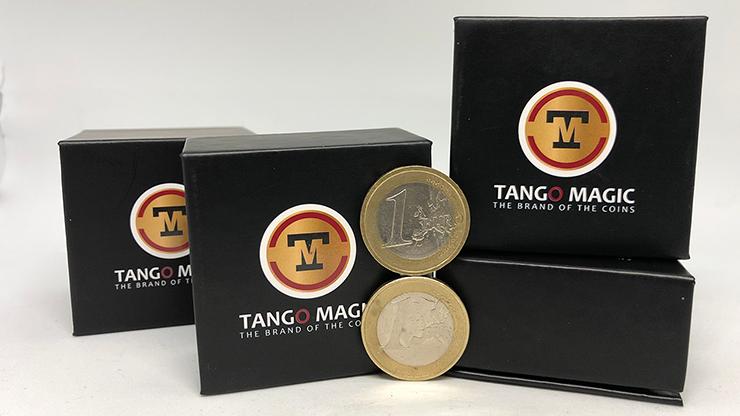 Balancing Coin (1 Euro) by Tango Magic- Trick (E0049)