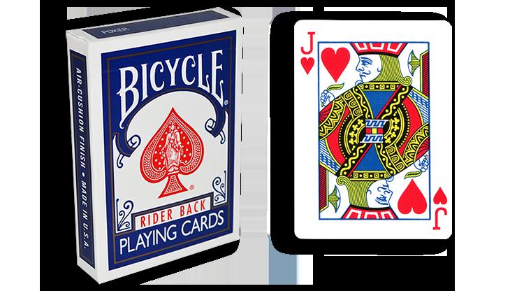 Cartas para Forzar - 1 Eleccion - Joto de Corazones - Cartas Bicycle - Azul