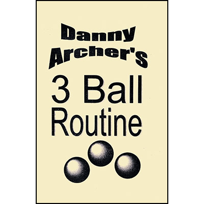 3 Ball Routine with DVD - Danny Archer