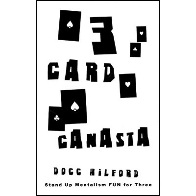 3 Card Canasta ( Color Varies )by Docc Hilford