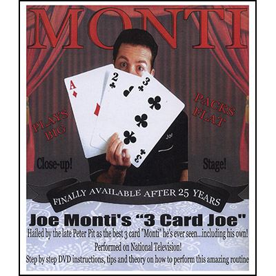3 Card Joe X-Large Cards (11X17 on Heavy Card Stock, 2 DVD's & Worldwide Performance Rights) -DVD