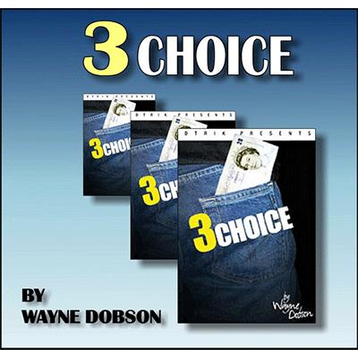 3 Choice - Wayne Dobson & Heinz Minten