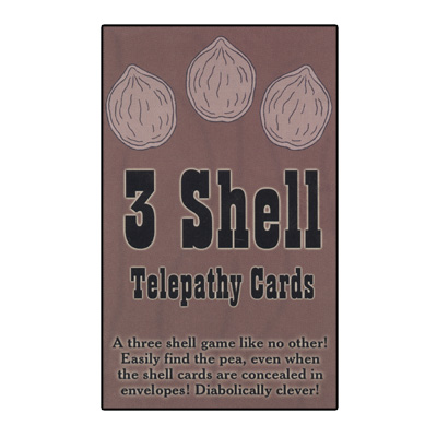 3 Shell Telepathy Cards
