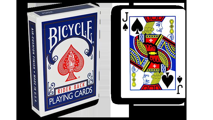 Cartas para Forzar - 1 Eleccion - Joto de Espadas - Cartas Bicycle - Azul