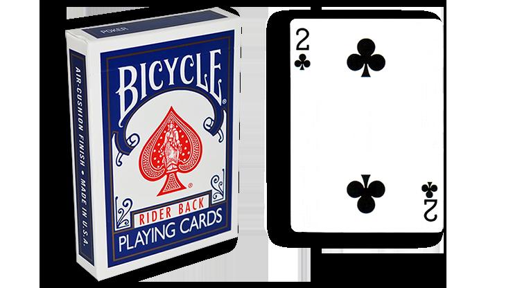 Cartas para Forzar - 1 Eleccion - 2 de Picas - Cartas Bicycle - Azul