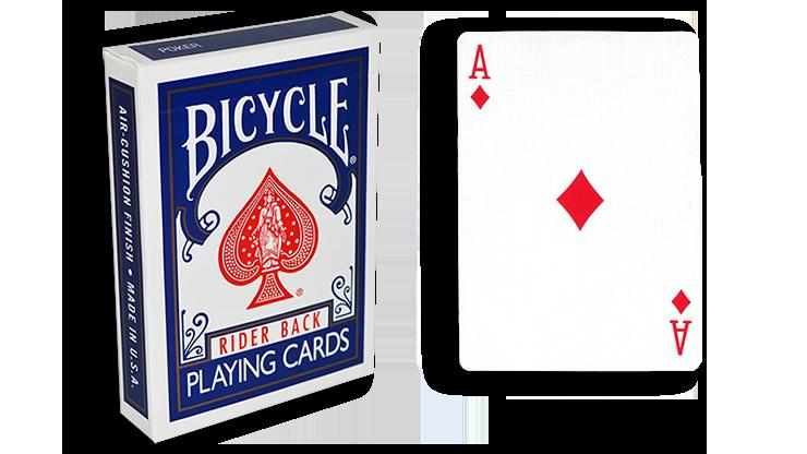 Cartas para Forzar - 1 Eleccion - as de Diamantes - Cartas Bicycle - Azul