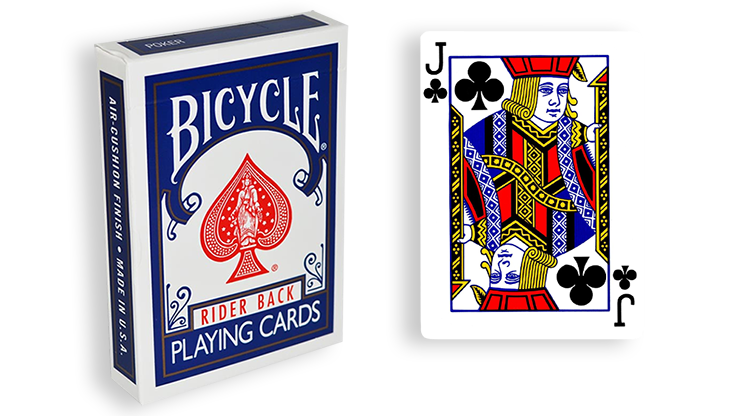 Cartas para Forzar - 1 Eleccion - Joto de Picas - Cartas Bicycle - Azul