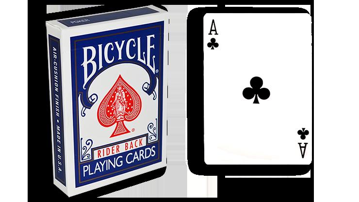 Cartas para Forzar - 1 Eleccion - as de Picas - Cartas Bicycle - Azul