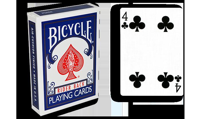 Cartas para Forzar - 1 Eleccion - 4 de Picas - Cartas Bicycle -