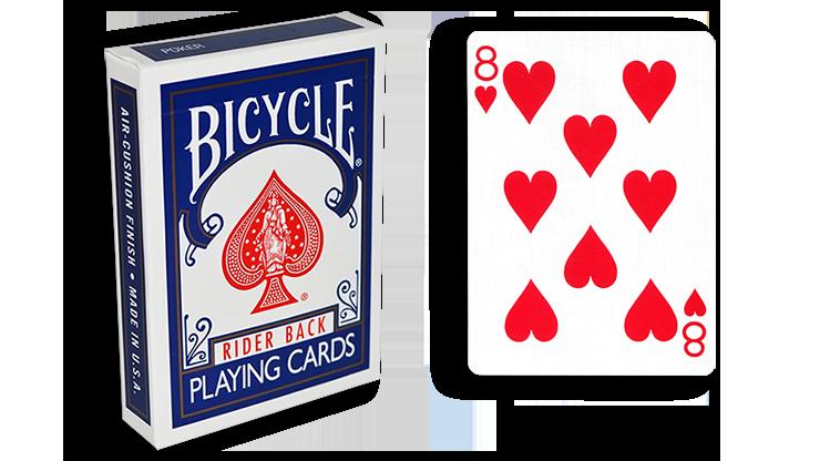 Cartas para Forzar - 1 Eleccion - 8 de Corazones - Cartas Bicycl