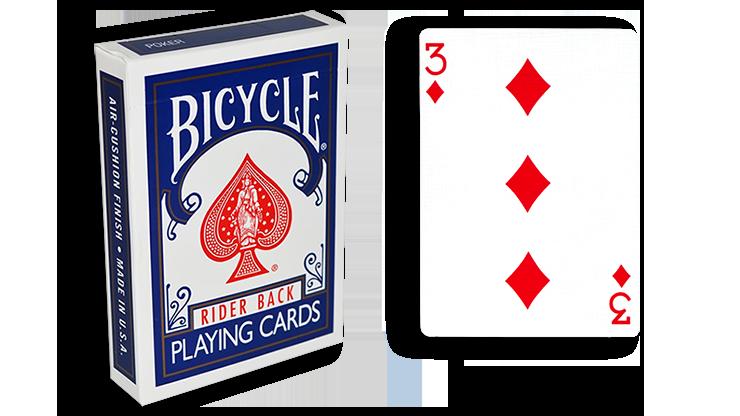 Cartas para Forzar - 1 Eleccion - 3 de Diamantes - Cartas Bicycl