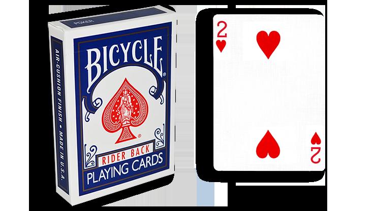 Cartas para Forzar - 1 Eleccion - 2 de Corazones - Cartas Bicycl