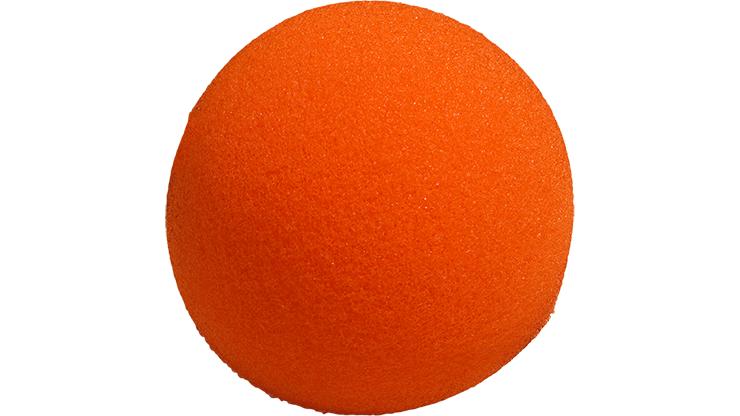 1 Bola de Esponja Super Suave - 4 Pulgadas (Naranja)
