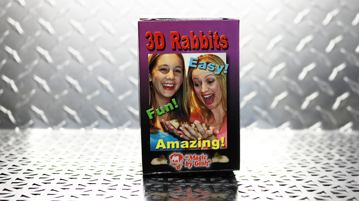 Conejos 3D - Goshman