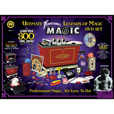 Leyendas de la Magia (con DVD) - Fantasma Magic - Kit de Trucos de Magia