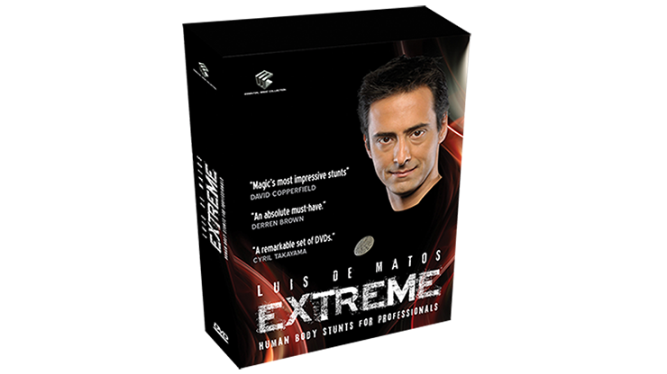 Extreme (Human Body Stunts) 4 DVDs -  Luis De Matos