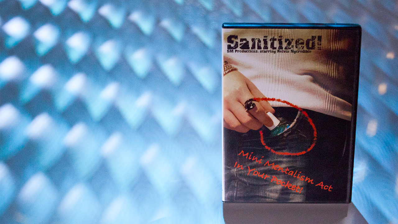 Sanitized (With Gimmicks) by Kelvin Ngcredible and SansMinds - DVD