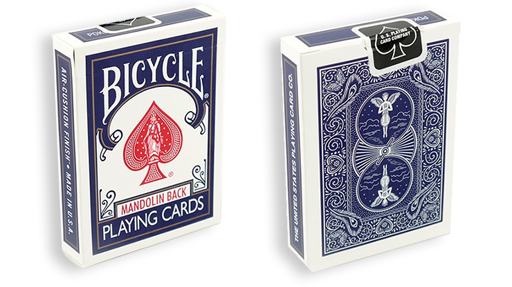 Cartas Bicycle - 809 Mandolin (Azul)