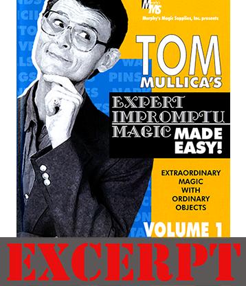 Karrel Foxs Napkin Vanish video DOWNLOAD (Excerpt of Mullica Expert Impromptu Magic Made Easy Tom Mullica #1 DVD)