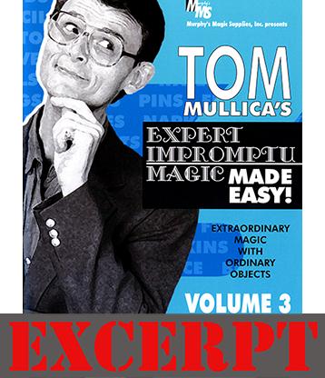 Bill to Matches video DOWNLOAD (Excerpt of Mullica Expert Impromptu Magic Made Easy Tom Mullica #3 DVD)