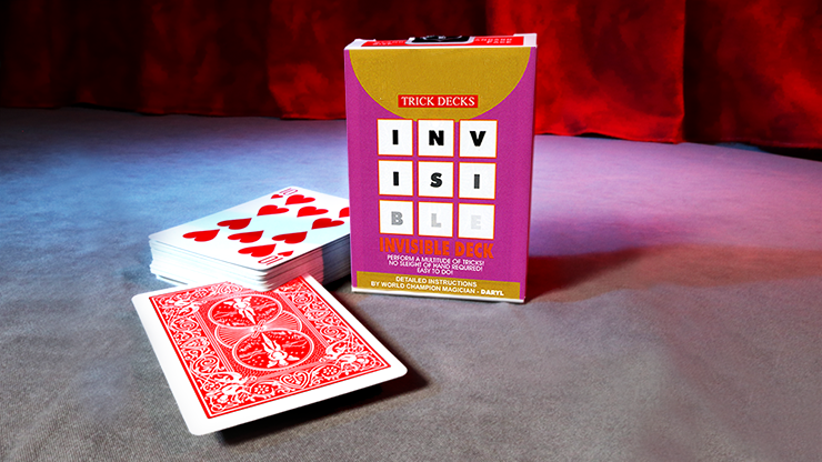 Invisible Deck Cartas Bicycle - Mandolin (Rojo)
