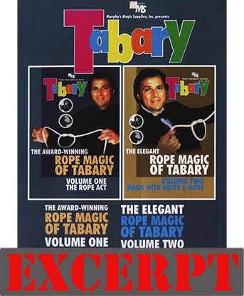 Ring & Rope video DOWNLOAD (Excerpt of Tabary (1 & 2 On 1 Disc) 2 vol. combo DVD)