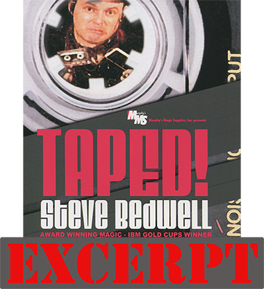 Taped! by Steve Bedwell video DOWNLOAD